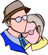 image: retired couple